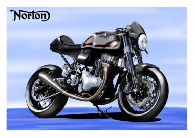 Norton oznámil nový model Dominator SS