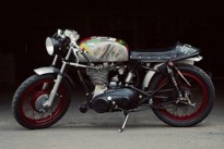 "ROYAL ENFIELD BULLET ""THE BADGER"""